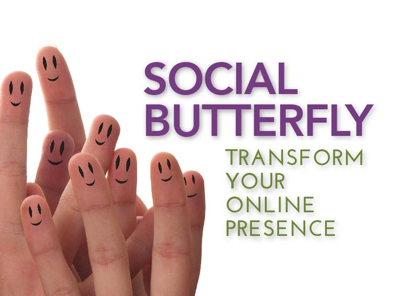 CATMEDIA Social Media Campaign Social butterfly transform your online presence