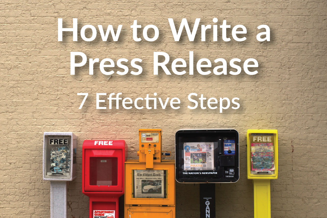 How to write a departure release