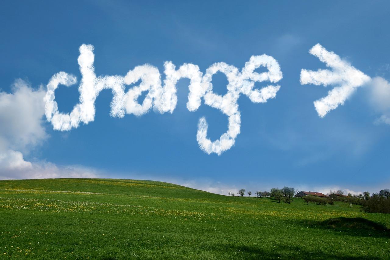 SIX STEPS TO ORGANIZATIONAL CHANGE- CHANGE